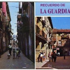 Cartes Postales: Nº 7 LAGUARDIA. ÁLAVA. PLAZA MAYOR-CALLE MAYOR. POSTALES PILMAR. FOTO S. DE LA CAL. . Lote 55054606
