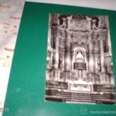 Postales: POSTAL ANTIGUA DE BILBAO. NUESTRA SEÑORA DE BEGOÑA, ALTAR MAYOR. AÑOS 60. Lote 55151063