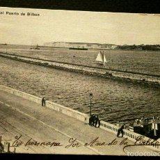 Postales: BILBAO (VIZCAYA) VISTA DEL PUERTO - ED. LG - POSTAL CIRCULADA- PAIS VASCO. Lote 55238570