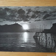 Postales: SAN SEBASTIAN. EFECTOS DE SOL EN LA BAHIA. ED. FOTO GALARZA. DONOSTIA.. Lote 55391232