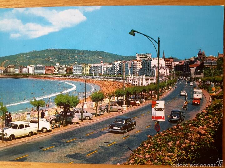 SAN SEBASTIAN. VISTA PARCIAL. ED. BEASCOA. DONOSTIA (Postales - España - País Vasco Moderna (desde 1940))