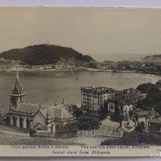 Postales: POSTAL SAN SEBASTIAN - VISTA PARCIAL DESDE ALDAPETA. Lote 55907608