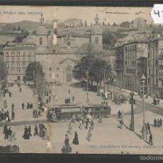 Postales: BILBAO -PASEO DEL ARENAL - TRANVIA (42.384). Lote 56129289
