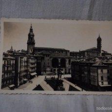 Postales: VITORIA, PLAZA DE LA VIRGEN BLANCA.. Lote 56155922