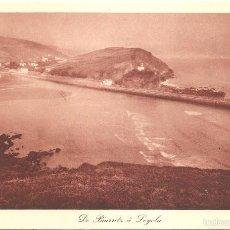 Postales: DE BIARRITZ A LOYOLA VISTA GENERAL DE ZUMAYA 1931. Lote 56188395
