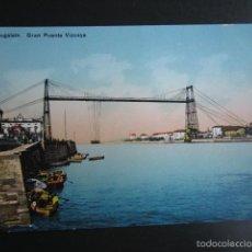 Postales: POSTAL BILBAO. PORTUGALETE. GRAN PUENTE VIZCAYA. . Lote 56501615