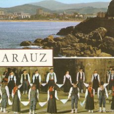Postales: POSTAL 42 ZARAUZ ZARAUTZ GUIPÚZCOA FUERTES PAÍS VASCO ESPAÑA SPAIN SPANIEN. Lote 56712010