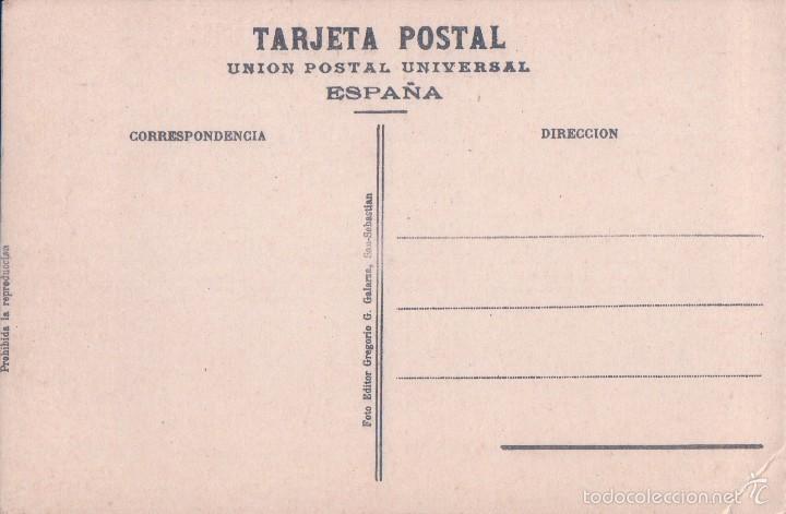 Postales: POSTAL 441- SAN SEBASTIAN, NUEVO PUENTE DE LA ZURRIOLA. Ed gregorio g. galarza - Foto 2 - 56795668