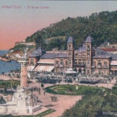 Postales: POSTAL 143-SAN SEBASTIAN-EL GRAN CASINO.ED GREGORIO G GALARZA. Lote 56795912