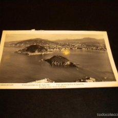 Postales: POSTAL SAN SEBASTIAN - VISTA PARCIAL DESDE IGUELDO / 1960 / MANIPEL. Lote 57021415