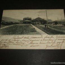 Postales: IRUN GUIPUZCOA ESTACION EDICION MAS CIRCULADA 1904. Lote 57182239