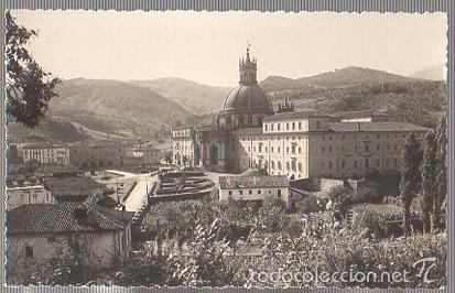 TARJETA POSTAL AZPEITIA. SANTUARIO DE LOYOLA (Postales - España - Pais Vasco Antigua (hasta 1939))