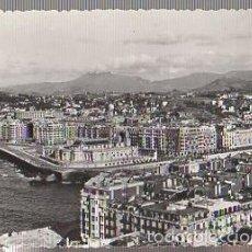 Postales: TARJETA POSTAL SAN SEBASTIAN. BARRIO DE GROS. FOTOS J. GARCIA. Lote 57192704