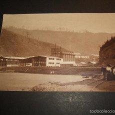 Postales: BILBAO VIZCAYA ALTOS HORNOS POSTAL FOTOGRAFICA HACIA 1910. Lote 57193765