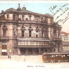 Postales: BILBAO EL TEATRO 1907. Lote 57266910