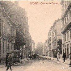 Postales: VITORIA - CALLE DE LA FLORIDA. Lote 57299563