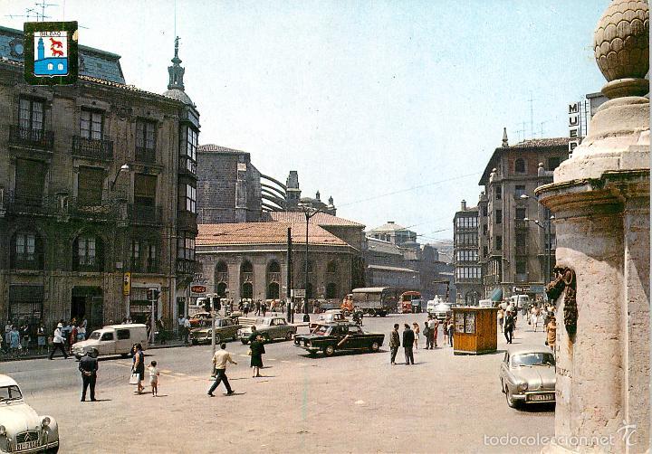 BILBAO - SAN ANTON CRUCE 1969 - ESCUDO DE ORO Nº5 - SIATA FORMICHETTA GORDINI 2CV (Postales - España - País Vasco Moderna (desde 1940))