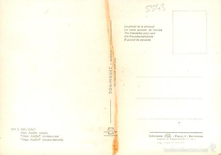 Postales: Bilbao - San Anton Cruce 1969 - Escudo De Oro Nº5 - siata formichetta gordini 2cv - Foto 2 - 57303719