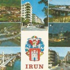 Postales: ** PW875 - POSTAL - IRUN - VARIAS VISTAS. Lote 57315423