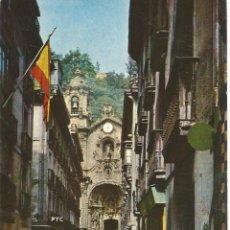 Postales: ** PW888 - POSTAL - SAN SEBASTIAN - IGLESIA DE SANTA MARIA. Lote 57315445