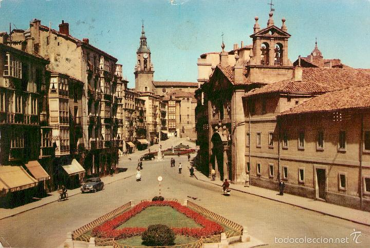 VITORIA - PLAZA DEL GENERAL LOMA - FOURNIER Nº3 - COCHE (Postales - España - País Vasco Moderna (desde 1940))