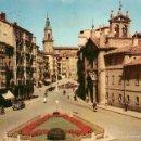 Postales: VITORIA - PLAZA DEL GENERAL LOMA - FOURNIER Nº3 - COCHE. Lote 57315551