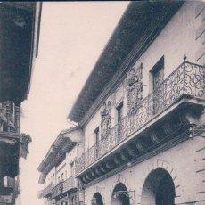 Postales: TARJETA POSTAL. FUENTERRABIA. Nº 73. CASA CONSISTORIAL. FOTO N.D.. Lote 57401042