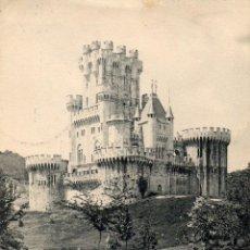 Postales: CASTILLO DE BUTRON. VIZCAYA. LANDABURU HERMANAS. BILBAO. SIN DIVIDIR.. Lote 57413737
