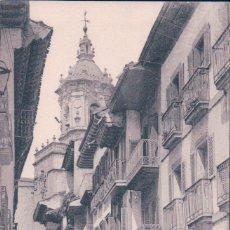 Postales: POSTAL FUENTERRABIA .- CALLE MAYOR. TIBURCIO BERROTARAN. Lote 57486629