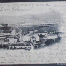 Postales: (47808)POSTAL ESCRITA,EL PUEBLO,ZARAUTZ,GUIPÚZCOA,PAIS VASCO,DORSO SIN DIVIDIR. Lote 57630599