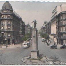 Postales: POSTAL BILBAO MONUMENTO LOPEZ DE HARO GRAN VIA ED. GARRABELLA N° 93 COLOREADA . Lote 57776785