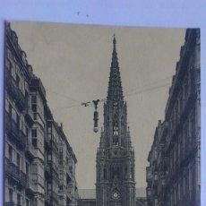Postales: ANTIGUA POSTAL SAN SEBASTIAN - IGLESIA DEL BUEN PASTOR, AÑO 1916. Lote 57819220