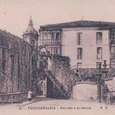 Postales: POSTAL FUENTERRABIA - ENTRADA A LA CIUDAD - M.D MARCEL DALBOY 50. Lote 57820473