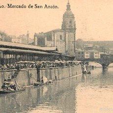 Postales: BILBAO - MERCADO DE SAN ANTON M- LG. Lote 58010004