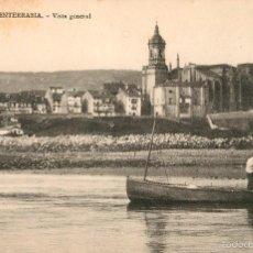 Postales: FUENTERRABIA - VISTA GENERAL - TIBURCIO BERROTAN. Lote 58010202
