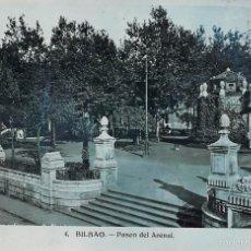 Postales: BILBAO.- PASEO DEL ARENAL. Lote 58105632