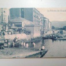 Postales: LA RIBERA DE ERANDIO. BILBAO. VIZCAYA. PUBLICADO POR EL MUNDO Y LA BBK. REPRODUCCIÓN DE POSTAL ANTIG. Lote 221944736