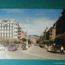 Postales: POSTAL - ESPAÑA - SAN SEBASTIAN - AVD. DE ESPAÑA - MANIPEL - ESCRITA. Lote 58430817