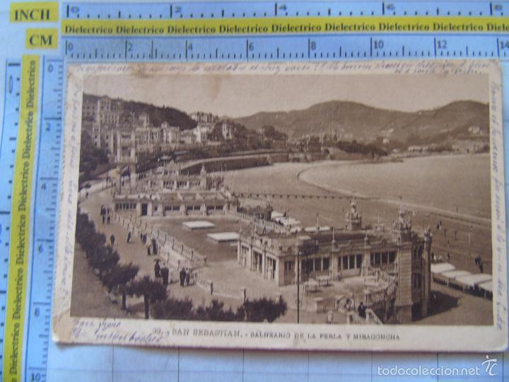 Se convierte en siete y media intersección  postal de guipúzcoa, san sebastián. años 10 30. - Buy Old Postcards from  the Basque Country at todocoleccion - 58453659