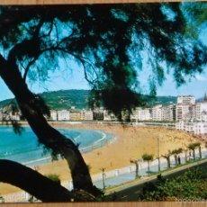Postales: SAN SEBASTIAN - PLAYA DE LA CONCHA. Lote 58590548