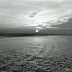 Postales: NEGATIVO ESPAÑA BILBAO COSTA DESDE BARCO SS PATRICIA 1970 KODAK 35MM NEGATIVE SPAIN PHOTO FOTO SHIP. Lote 58669965