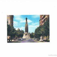 Postales: POSTAL ANTIGUA VIZCAYA SIN CIRCULAR BILBAO GRAN VIA MONUMENTO AL SAGRADO CORAZON DE JESUS. Lote 58686776