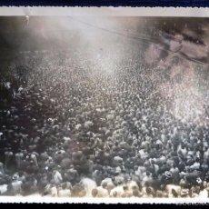 Postales: RARA FOTO ORIGINAL DE ÉPOCA. 12 MARZO 1933. MITIN TRADICIONALISTA EN EL FRONTÓN EUSKALDUNA. BILBAO.. Lote 58706771