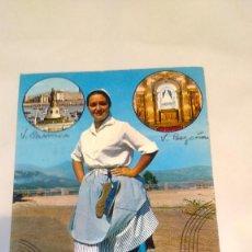 Postales: POSTAL DESDE SANTURCE A BILBAO CICULADA. Lote 58937610