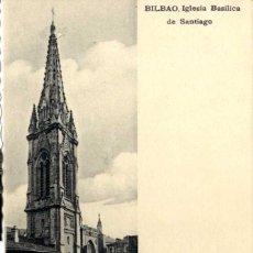 Postales: BILBAO BILBAO BILBAO IGLESIA BASÍLICA DE SANTIAGO EDIT L.S .. Lote 58966715
