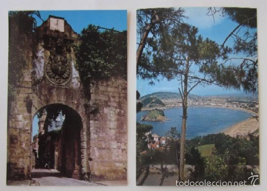 Postales: LOTE DE 5 POSTALES DE SAN SEABSTIAN - Foto 3 - 59000960