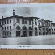 Postales: VITORIA. ESTACION DE AUTOBUSES. (ED. ARRIBAS Nº32).. Lote 59918303
