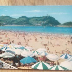 Postales: SAN SEBASTIAN - PLAYA DE LA CONCHA. Lote 60237111