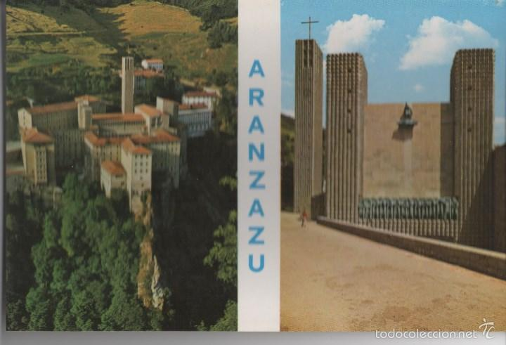 POSTAL-ARANTZAZU-VISTA GENERAL (Postales - España - País Vasco Moderna (desde 1940))
