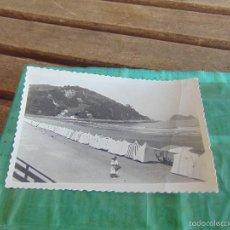 Postales: TARJETA POSTAL CIRCULADA DE ZARAUZ PLAYA GUIPUZCOA . Lote 60356851